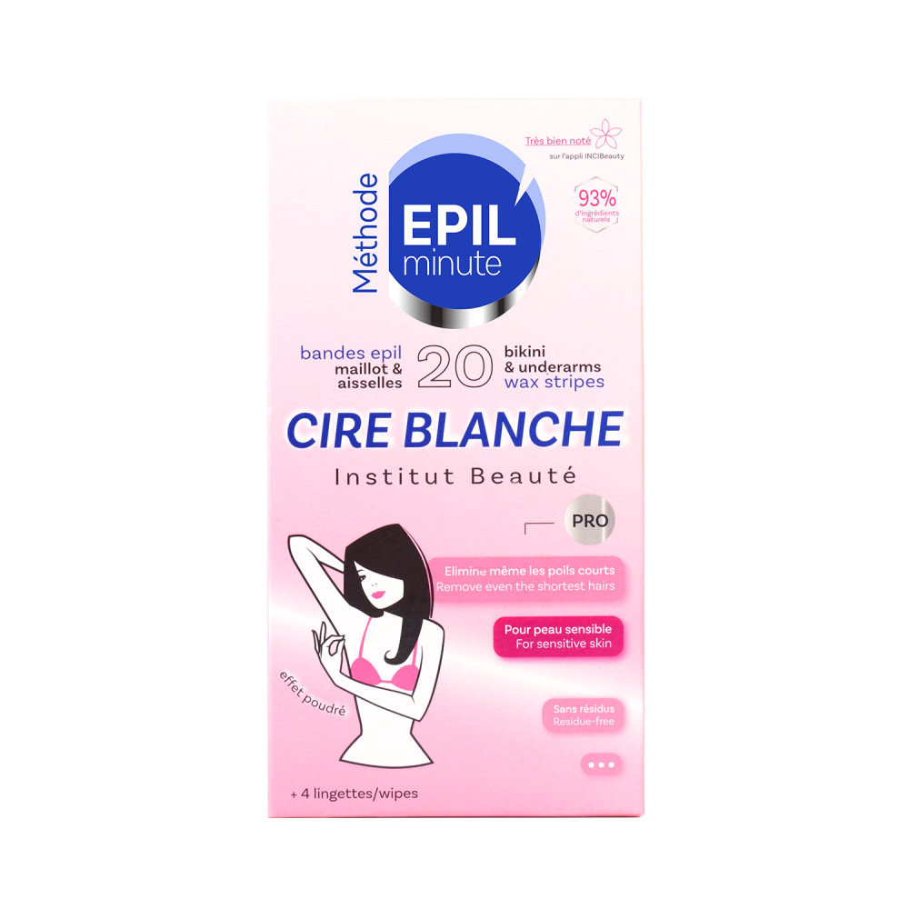 Cire Blanche PRO 20 Bandes maillot / aisselles SOFT TOUCH